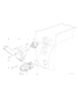 Pompa wody BMW E30 E36 E46 E34 316i 318i 318is 518i M42 M44 M43 - 11510393338