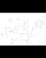 Adapter podnośnika szyby - 51337033037