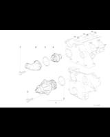 Termostat BMW E36 E34 E39 E38 325tds 525td 525tds 725tds M51 - 11532246199