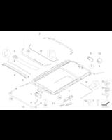 Adapter węża odpływu wody z przodu - 54137130996
