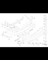 Absorber uderzenia tylny - 51127135581