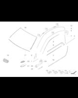 Atrapa nerka E92 E93 - Oryginał BMW - 51137157278