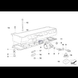 Uszczelka głow. silnika bezazbestowa - 11121405748