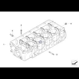 Śruba dwustronna głowicy BMW E30 E34 E32 E36 E46 E38 E65 316 318 750 518 850 745d - 07129908136