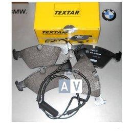 Klocki hamulcowe tył BMW E36 E46 + czujnik