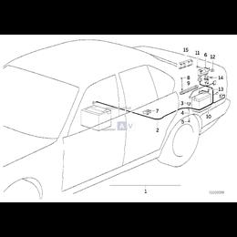 Śruba BMW E34 518 520 525 530 540 M5 K75 K1100 K100 R45 R50 R60 R90 R100 - 61211459734