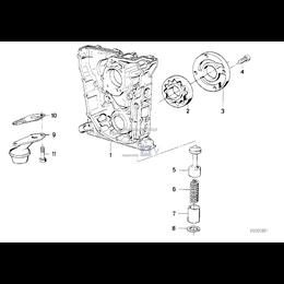 Uszczelka smoka pompy oleju BMW E30 316i 318i 318is - 11411715116