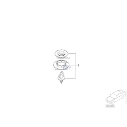 Zatrzask obrotowy - 51478183011