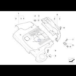 Osłona akustyczna tylna - 11147787331
