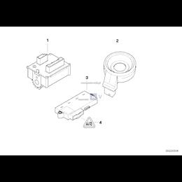 Przewód przełącznika zapłonu / EWS - 61126943850