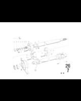 3-ramienny kołnierz, Śruba sześciokątna - 07119912640