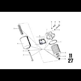 Obudowa filtra oleju - 11421252464