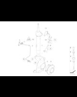 Amortyzator przód BMW E87 lewy - 31316768915