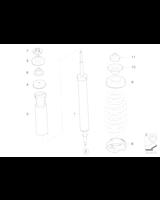Amortyzatory tył E90 E91 E87 E81 - Oryginał BMW - 33526784977