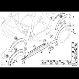 Zaczep MINI R55 R56 R57 R58 R59 Cooper - 51717127743