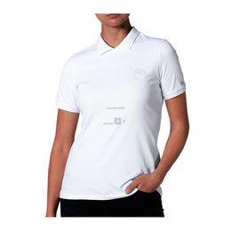 Koszulka polo BMW Fashion, biała, damska M - 80142466139