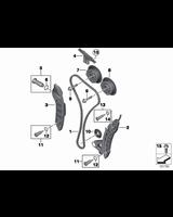 Pierścień uszczelniający VANOSA BMW E46 E60 E90 E91 E84 X1 F10 F11 F15 F16 X5 F20 F21 F25 X3 F26 X4 F30 F31 F34 F36 F45 G30 G20 G01 MINI - 1131763197