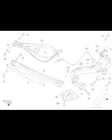 Czujnik impulsów ABS tył BMW E46 330Ci 330d 330i - 34521166126