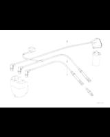 Przewody zapłonowe BMW E34 E32 530i 535i 730i 735i M30 - 12121722253