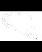 Adapter spryskiwacza, lewy - 61677001653