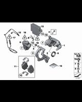 Klocki hamulcowe tył BMW F10 F11 F25 F26 X3 X4 518 520 525 528 530 535 - 34216862202