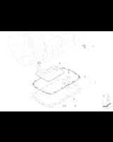 Filtr automatycznej skrzyni biegów BMW E81 E83 E87 E90 E91 E92 E93 320i 325i 328i 330i 116i 118i 120i 125i 128i 130i - 24117593565