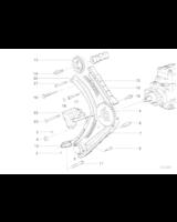 Łańcuch rozrządu górny BMW E38 E36 E34 E39 525tds 325tds 725tds M51 - 11312246582