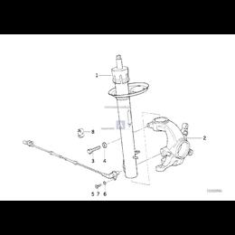 Amortyzator przedni prawy - 31311090296