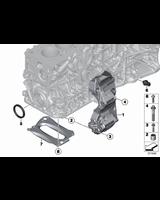 Zimering wału przód BMW E60 E70 E81 E87 E90 E84 F01 F10 F11 F15 F12 F20 F30 F48 G11 MINI - 11117802665