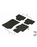 All-weather floor mats, front - 51472181587
