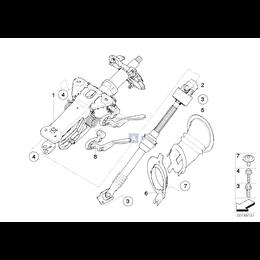 Mocowanie kolumny kierownicy - 51717060309