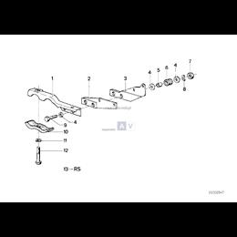Wspornik rury wydechowej - 18211245177