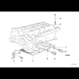 Uszczelka głow. silnika bezazbestowa - 11121721550