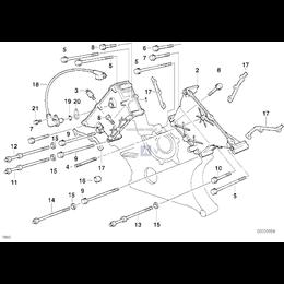 Uszczelka obudowy skrzyni łańcuchowej BMW E31 E32 E34 E38 530i 540i 840i 730i 740i M60 5-8cyl - 11141433306
