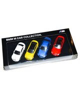 Zestaw miniatur BMW M Car Collection M1 M2 M3 M4 M5 M6 M8 - 80452365554