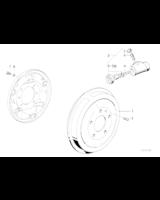 Cylinderek hamulcowy BMW E36 316i 318i M40 M43 - 34211159569