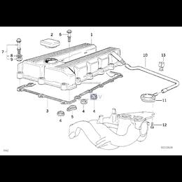 Przewód elastyczny odpowietrzający - 11151247743