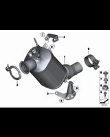 Uszczelka turbosprężarki / wydechu BMW F10N F20 F22 F25 F26 F30 F32 F48 MINI F54 F55 F56 F57 - 18308513651