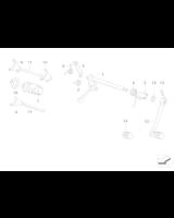 Bęben krzywkowy zmiany biegów - 23007700167