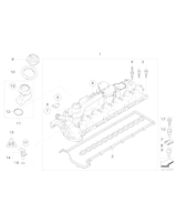 Czujnik impulsów wałka rozrządu E60 E65 E90 X6 - 13627792256