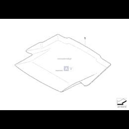Mata kształtowa bagażnika - 51470402412