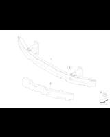 Absorber uderzenia przedni lewy - 51117895741