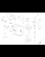 Czujnik klocków hamulcowych przód BMW E34 E31 M5 850Ci - 34351180432