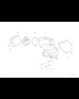 AT-Pompa wody BMW E31 840i E38 730i 740i M60 - 11510007043