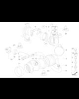 Przepływomierz BMW E36 E39 E34 520i 320i M50 M52 prod. do 09/98r. - 13621730033