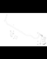 Łącznik stabilizatora tył BMW E90 E91 E81 E87 316 318 320 325 330 335 116 118 120 123 - 33556764428