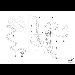 Przewód podciśnieniowy - 11611247341