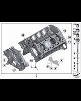 Blok silnika z tłokami, tylko w połączeniu z - 11112296654