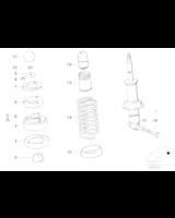 Amortyzator tył BMW E32 730i 735i 740i - 33521131395