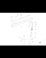 Przewód listwa olejowy smarujący krzywki BMW E36 E30 E34 31 318 518 M40 - 11421727054